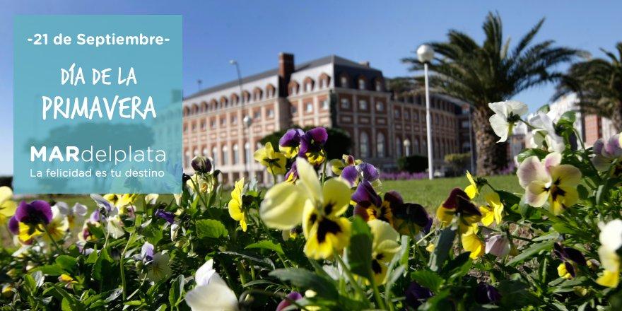 ¡Bienvenida #primavera! 🌹🌼🌸🌻🌷 #BuenJueves #MardelPlata #LaFelicidadEsT...