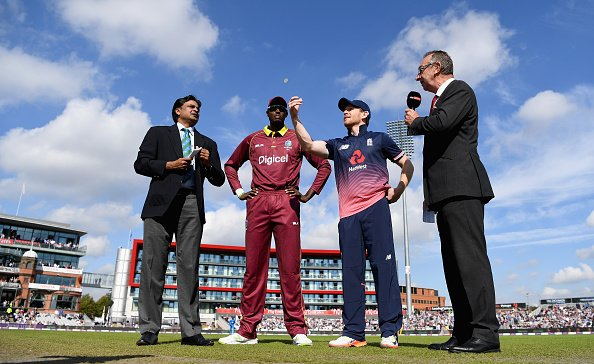 Breaking: @westindies win toss and will bowl first in second ODI again...