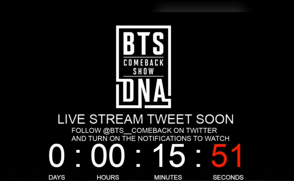 The BTS comeback show will begin in 15 minutes! ❤️💣🙌🏼 Who's tuning in?...