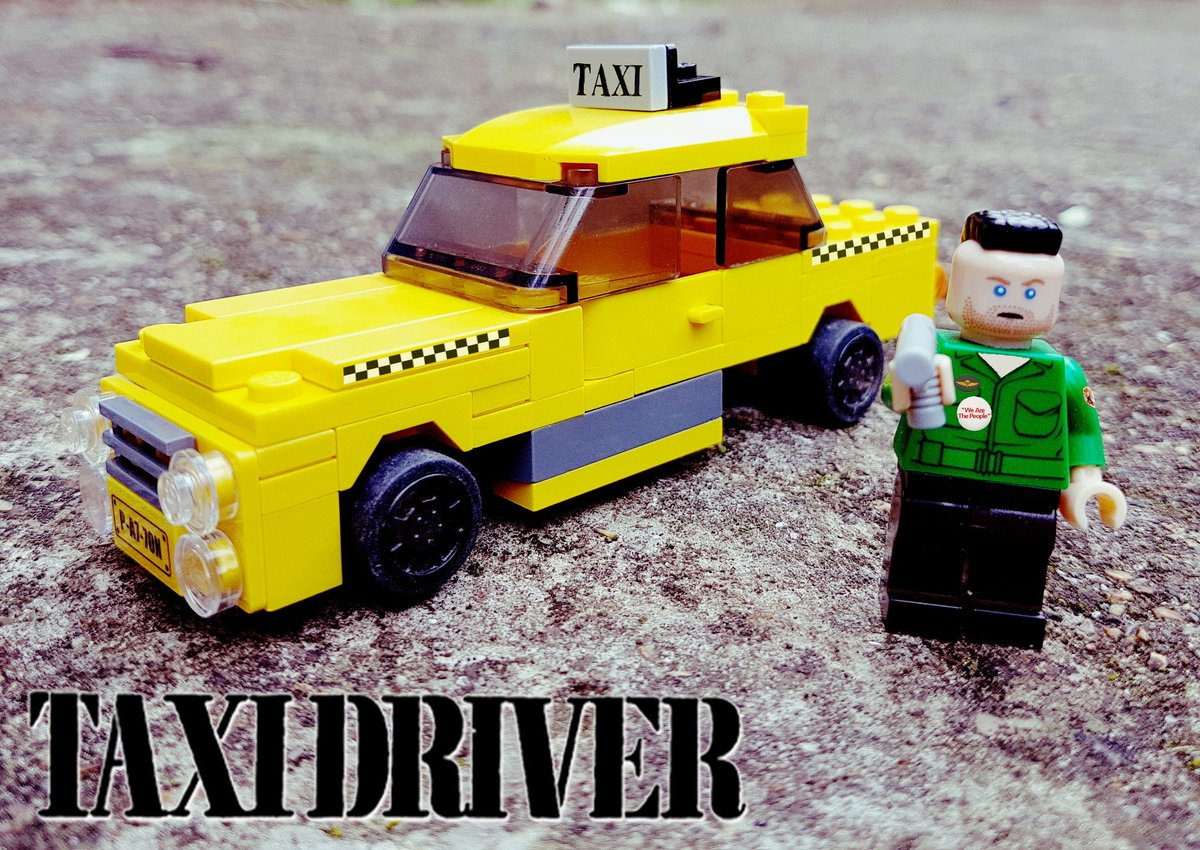 I made #Lego #TaxiDriver https://t.co/cP7Ii2a8VM