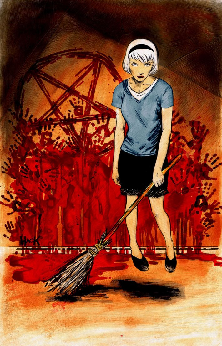 Sabrina the Teenage Witch is being developed as a dark teen drama. htt...