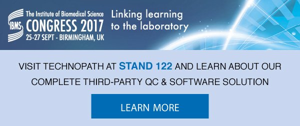 Exhibiting at The Institute of #Biomedical #Science Congress, Birmingham, 24th-27th Sept 2017  #joinus - Stand 122  #IBMS #IBMSCongress2017<br>http://pic.twitter.com/Mk34luXNyI
