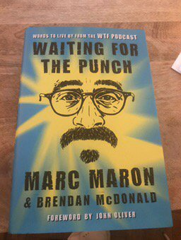 Read this in one weekend on a road gig in the Poconos!  @marcmaron has...