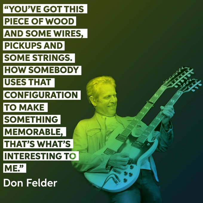 Happy birthday to the talented Don Felder! Watch our interview with Don here