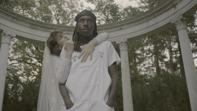"""Watch @cgainsbourg's """"Deadly Valentine"""" video featuring Dev Hynes. htt..."""