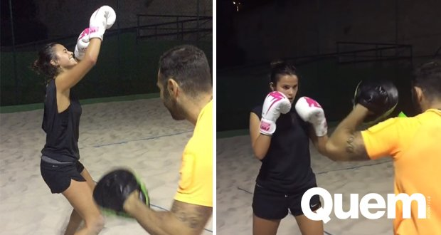 Após completar exercício, Bruna Marquezine faz 'dança da vitória'. https://t.co/OApQVZqlcM