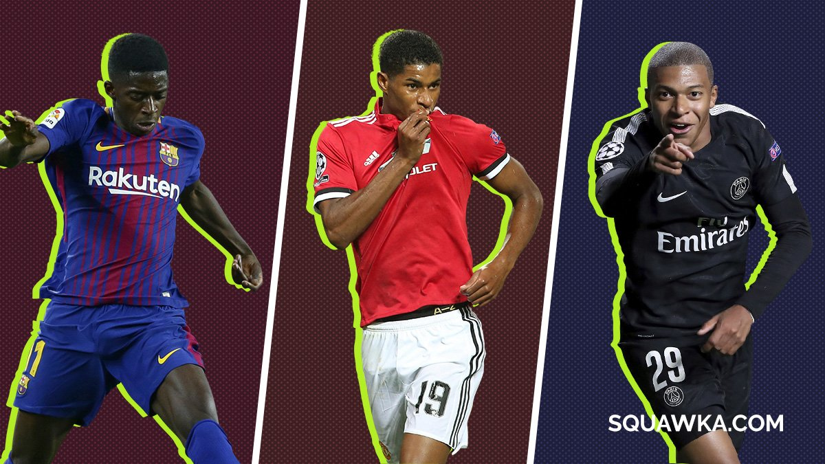 Squawka Football On Twitter 1 Analysis Ousmane Dembele Vs Marcus Rashford Vs Kylian Mbappe Https T Co S15yrnzugu By Muhammadbutt