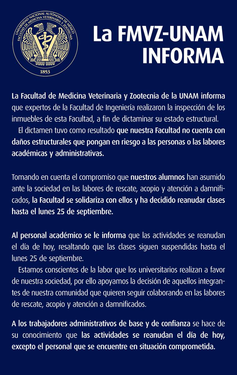 FMVZ UNAM on Twitter: \