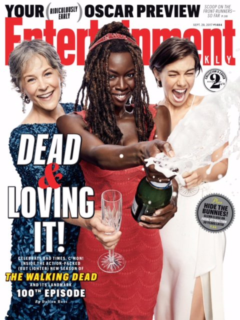 Celebrating 100 episodes + #TWD's upcoming Season 8 with these exclusive @EW covers! https://t.co/tsGSPMNZlk https://t.co/q332KKCg63