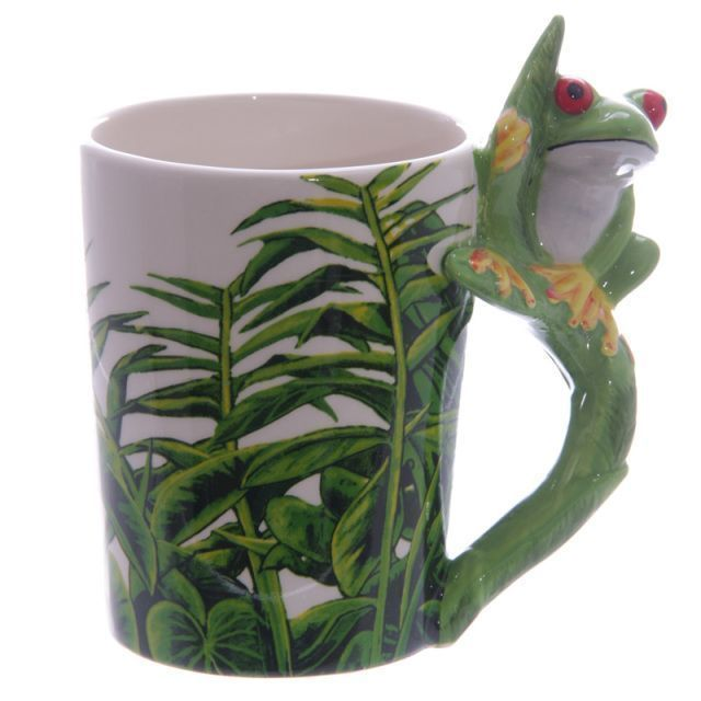 Ceramic Jungle Mug with Tree Frog Handle. Visit &gt;&gt;   https://www. shoppingforagift.com/store/p464/Cer amic_Jungle_Mug_with_Tree_Frog_Handle._Product_Code_-_SMUG23.html &nbsp; …   #Frog #Frogs #87RT<br>http://pic.twitter.com/XPdNG5945A