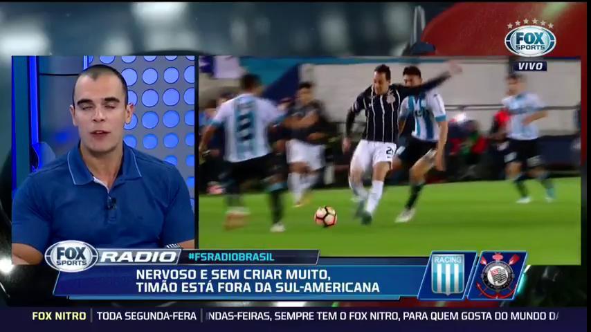 ⚪️⚫️ 'Entrou e fez uma grande bobagem', @mano97fm botou desclassificação nas costas de Rodriguinho. #FSRádioBrasil