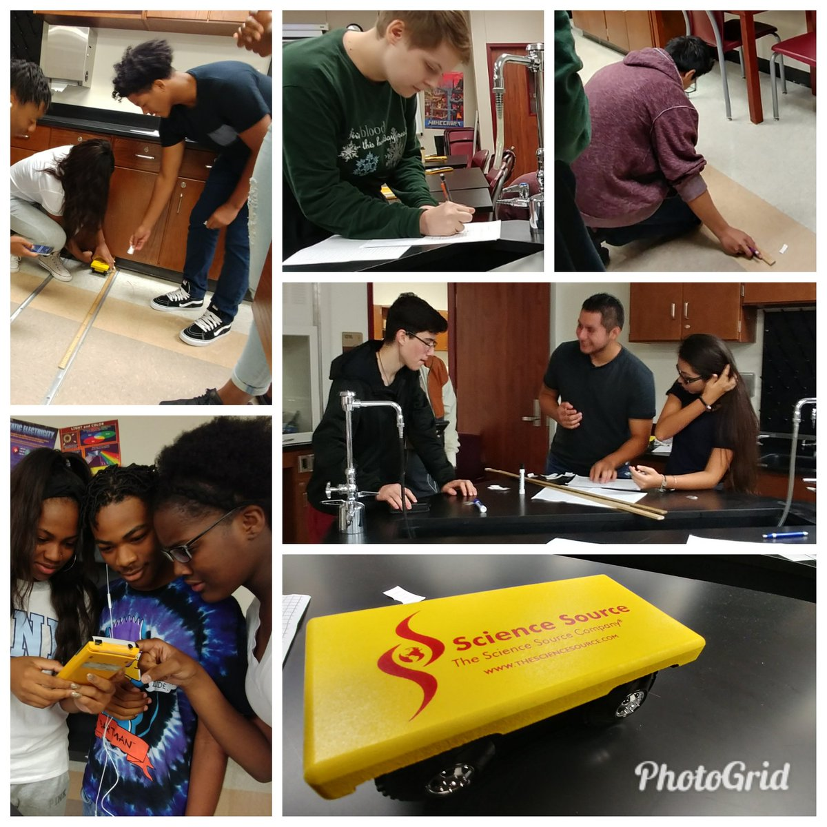 Our #Bulldogs worked together to explore motion in #Physics today! Everyday&#39;s a GREAT day to be a BULLDOG! #schsweareone @HumbleISD_SCHS<br>http://pic.twitter.com/KNAfd4HChk