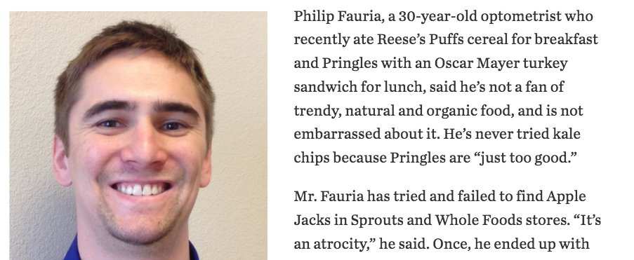 Philip Fauria, 30, is the kind of quiet, principled hero this country needs right now. https://t.co/quKUpLw6Wv