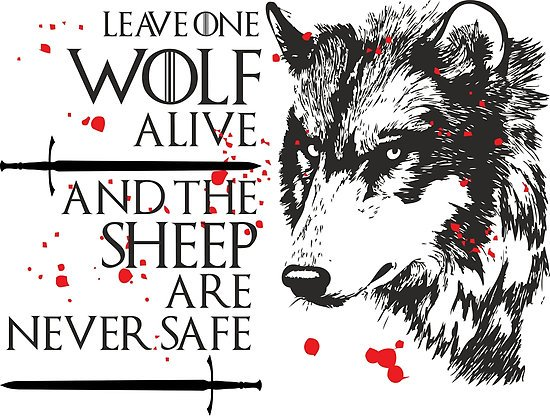 """Leave one wolf alive and the sheep are never safe."" #Arya #GameOfThrones #Quote #Quotes #Citation #Citations<br>http://pic.twitter.com/XgEfu1dU9A"