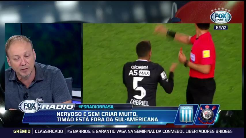 ⚪️⚫️ 'É a famosa cortina de fumaça', @flaviogomes69 critica 'desculpas' por eliminação do Timão. #FSRádioBrasil