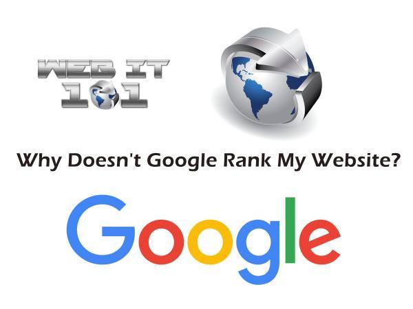 Why Google Does Not Rank My Website · Web It 101  http:// webit101.com/w/JfSrj  &nbsp;    #website #SEO #localseo #smallbusiness<br>http://pic.twitter.com/mVdnzdUmg0
