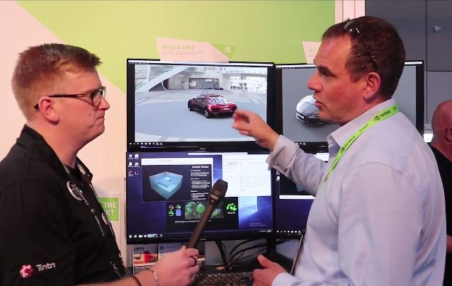 Check out interview with @lwignall &amp; Jason Southern on WIN10 with CPU vs. GPU to vMotion for #vGPU. #VMworld  http:// nvda.ws/2wJMgxP  &nbsp;  <br>http://pic.twitter.com/qwrdLzQETZ