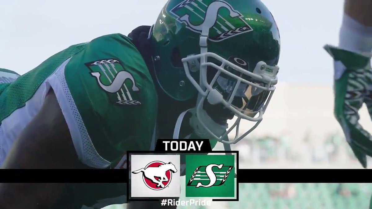 Matinée today, but the stars are out.  #CFLGameday #RiderPride https:/...