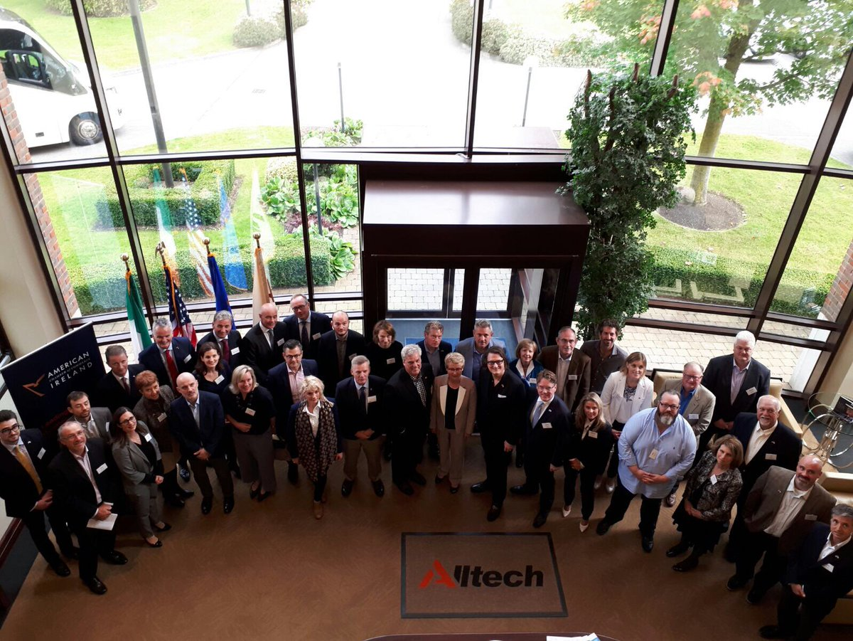 Prof John Murphy gave a talk at @KINglobal @AmericanChamber event at @Alltech on Why Ireland?: Celebrating Great Innovative Teams #teamovate <br>http://pic.twitter.com/CftWBaGRH9