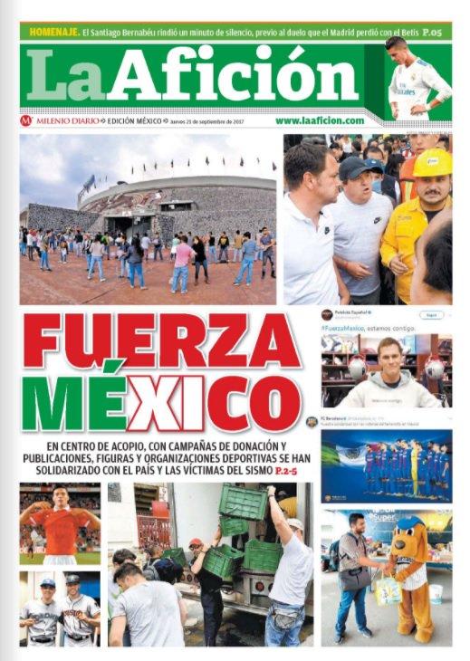 #BuenJueves | Te dejamos nuestra portada de hoy en @Milenio Diario htt...