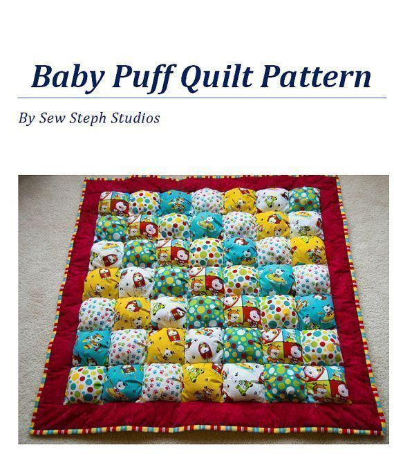 Check this out ONLY $5! #PuffQuilt #Pattern Love to #Sew? Love #Fabric? Need a #ShowerGift? #BabyQuilt #TummyTime   https:// buff.ly/2jLxEgh  &nbsp;  <br>http://pic.twitter.com/2azaPTxHtd