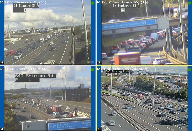 test Twitter Media - ** UPDATE **  The #M8 westbound between J23 and J24 still restricted in lane 3 of 3 due to a road traffic incident @ScotTranserv https://t.co/rt0hEraBpF