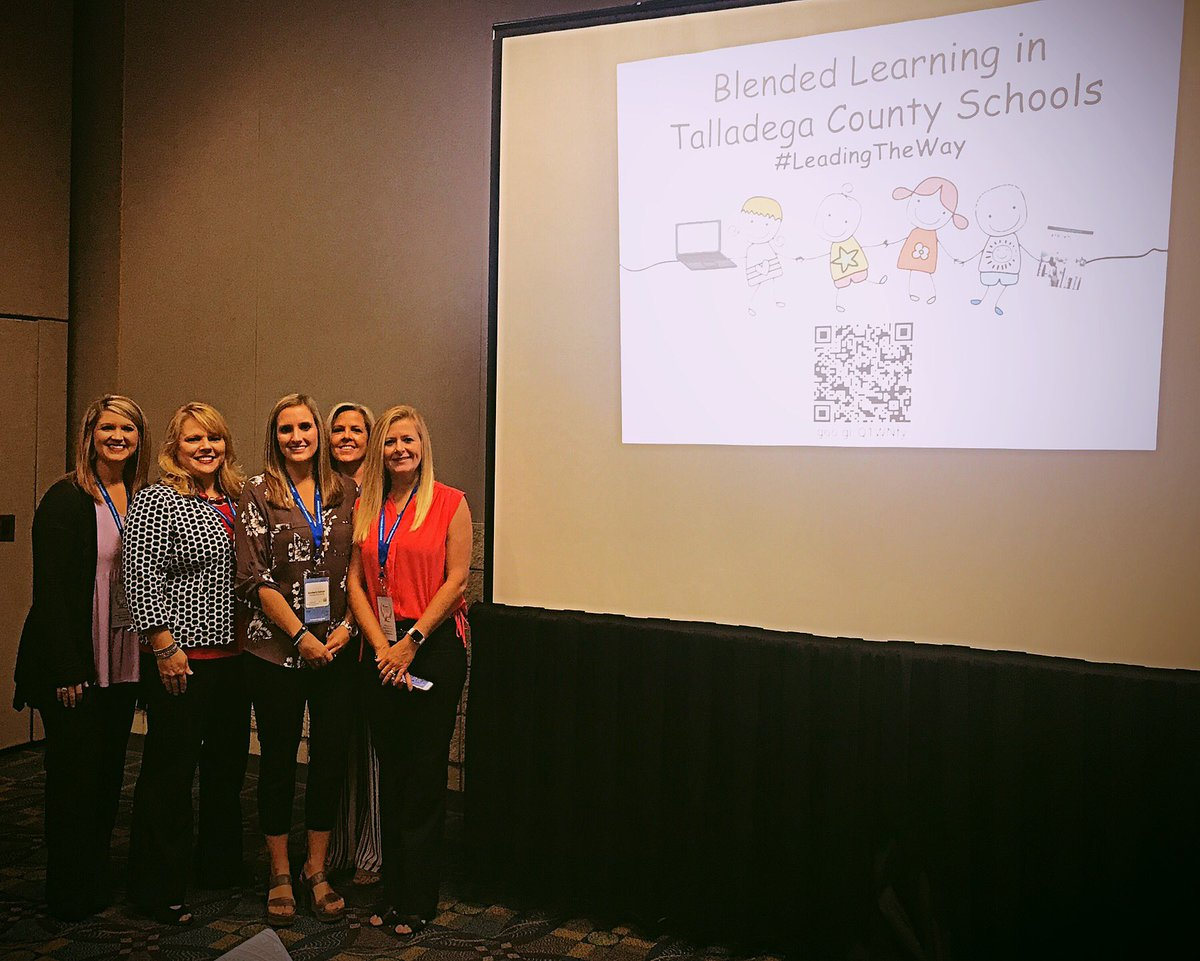 Honored to present at the Alabama Blended Learning Symposium with these friends! #iReadyAL @TCBOE @TCBOE_LES #LeadingTheWay @MyraBEdwards<br>http://pic.twitter.com/7u5ie4W3MT