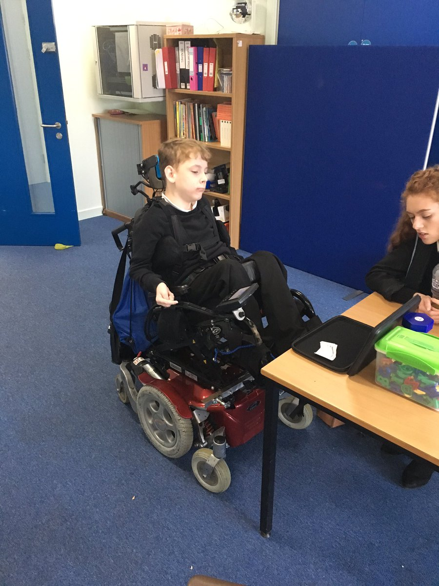 Alexander showing us him using his new technology in school #independence #amazing #weloveit @MonifiethHigh<br>http://pic.twitter.com/Gm5QkbT221