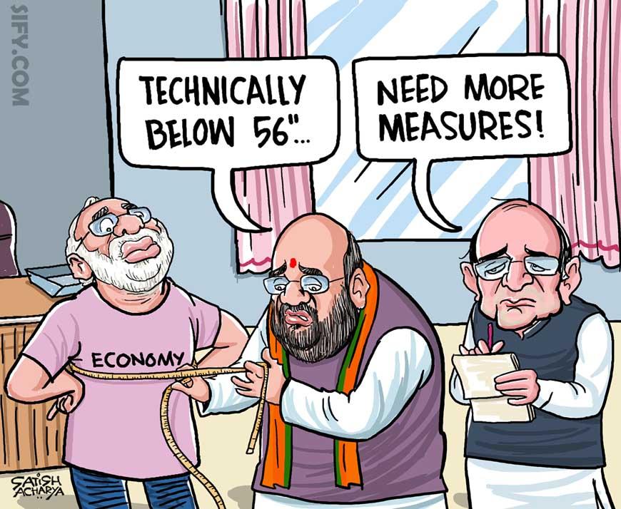 The economic slowdown is real! @sifydotcom cartoon #Economy <br>http://pic.twitter.com/DfUS5jI0uf