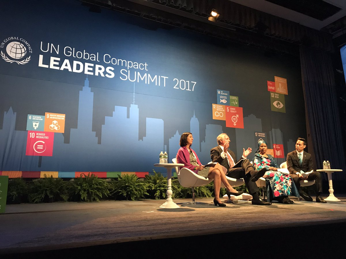 We need more leaders and trees, says @PaulPolman, CEO @Unilever #GCLea...