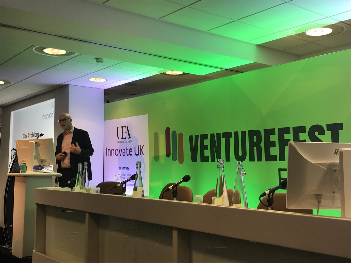 NOW: @CascadeBi presentation is on! @VentureFestEast #VFE17 #startups #cloud #fintech #businessintelligence <br>http://pic.twitter.com/KsSqxfbely