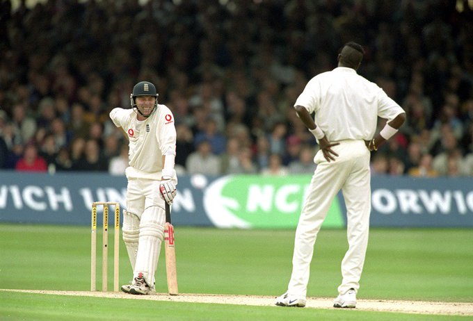 Happy birthday to cricket great Curtly Ambrose a batsman\s nightmare.  54 today!