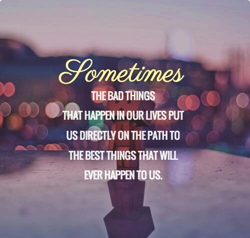 Inspirational Quotes On Twitter Sometimes The Bad Things That