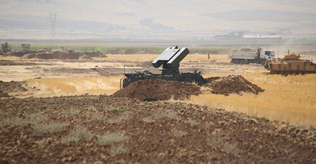 دبابات تركية تجري تدريبا على حدود العراق قبل أسبوع من استفتاء الأكراد DKQIIXIXcAEXeNF