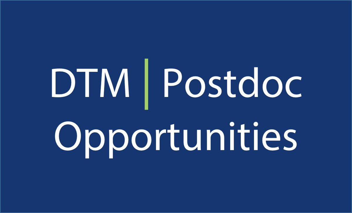 We are now accepting applications for #postdoc fellows and research associates. Submit your applications:  https:// jobs.carnegiescience.edu/jobs/postdocto ral-fellowships-at-the-department-of-terrestrial-magnetism/ &nbsp; … <br>http://pic.twitter.com/7aJn6GWnCH
