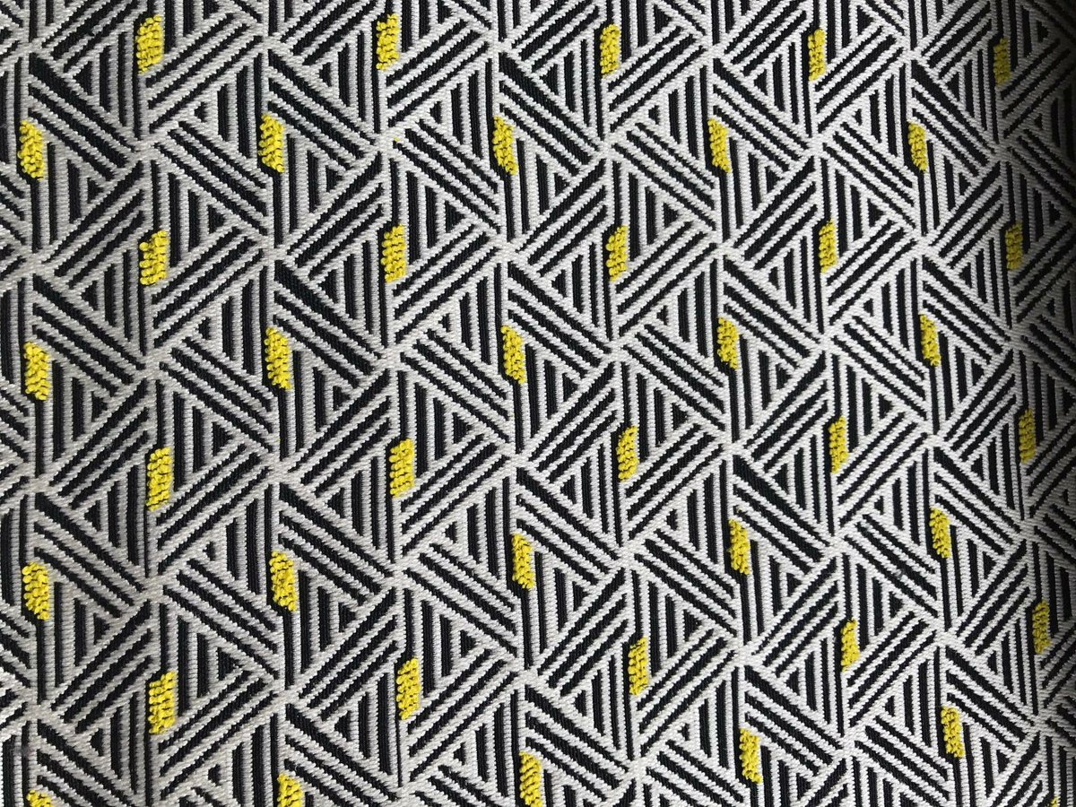Ganton Alchemilla Fabric from @DesignersGuild  Abstract, graphic lines set in a contemporary geometric pattern #designersguild #fabric <br>http://pic.twitter.com/rKqysf6lzY