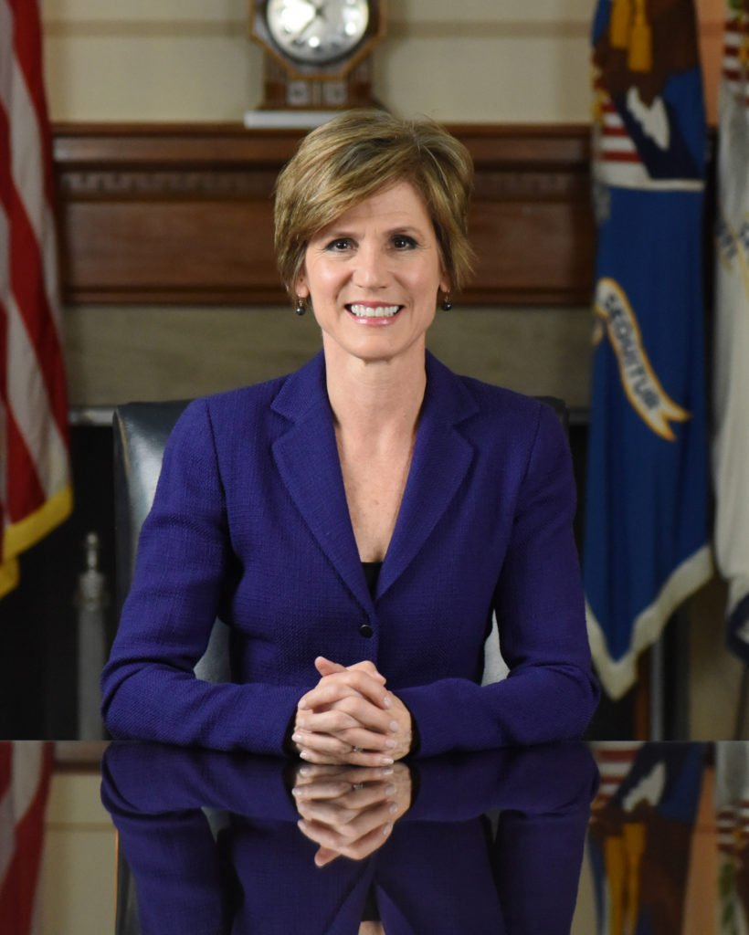 Former Acting Attorney General @SallyQYates Joins Georgetown Law for t...