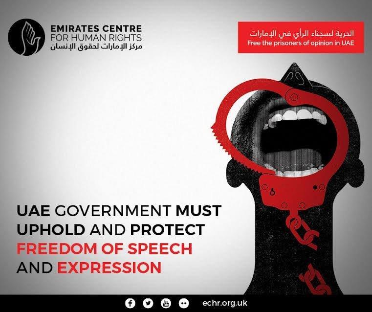 STOP unfair trial against #humanrights defenders in #UAE  #FreeAhmed h...