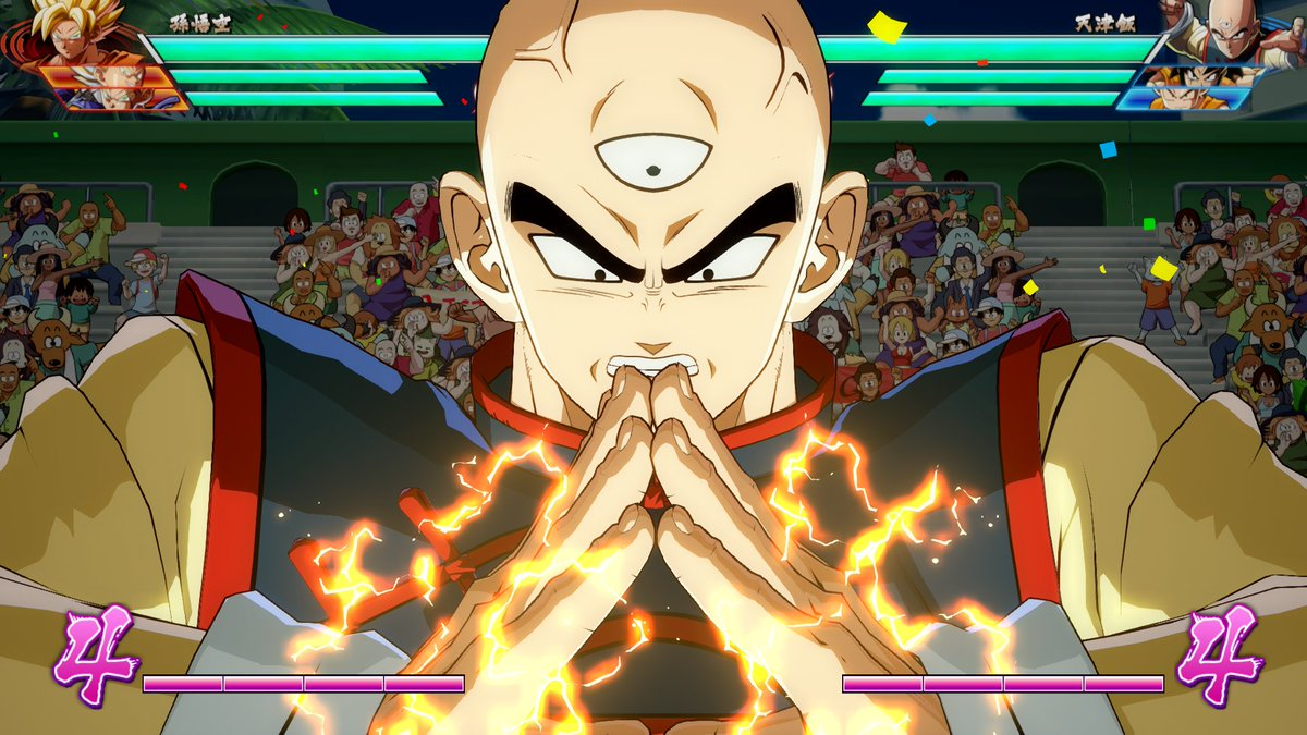 ICYMI: Tien (With Chiaotzu) and Yamcha join the DRAGON BALL FighterZ roster! #DragonBallFighterZ