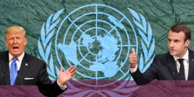 Trump et Macron à l'ONU : le duel par discours interposés https://t.co/72ipZZ5nQh