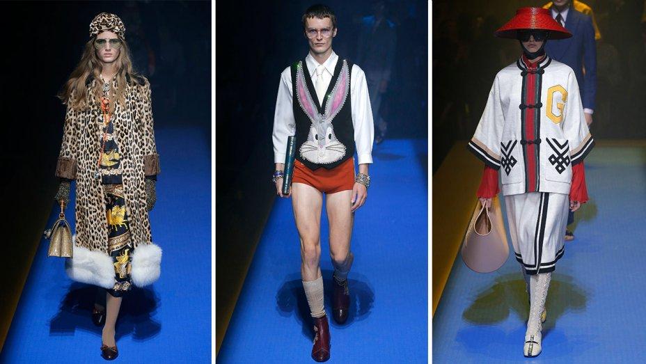 Milan Fashion Week blasts off with @Gucci: https://t.co/PxozNGSm5F #MFW https://t.co/6xh3m44Ezp
