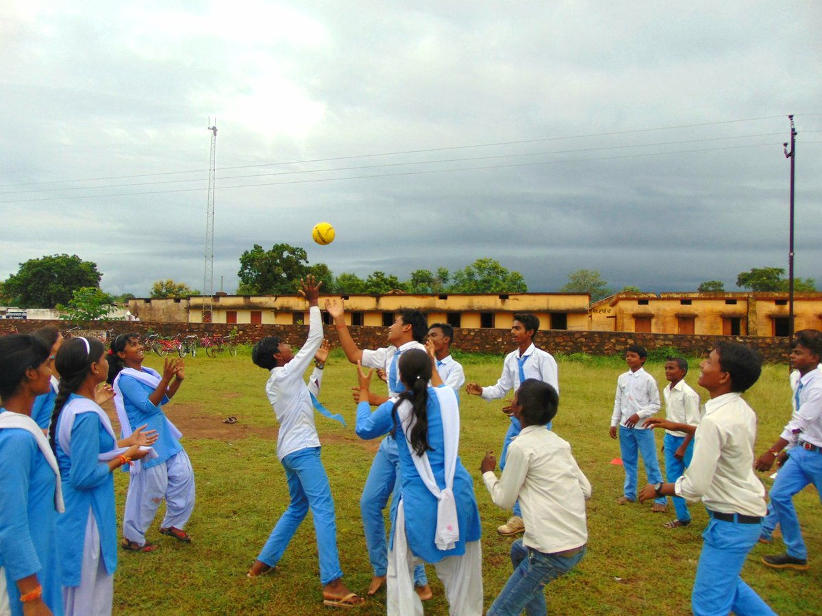 Here are a few pictures from  #FreedomToPlay sports camp at Rakseha,Panna in Madhya Pradesh. Launching second phase of #KadamBadhateChalo<br>http://pic.twitter.com/xVfl9FofxE