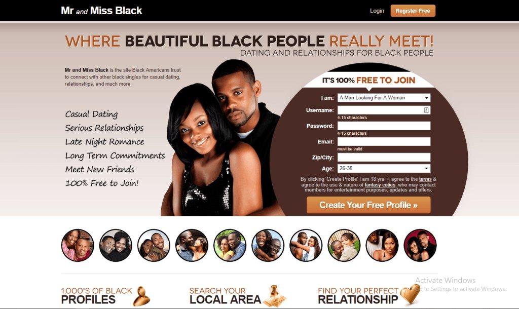 Black adult dating