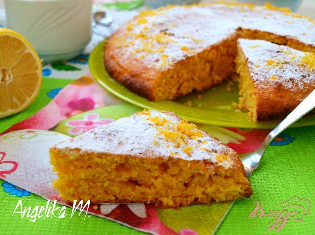 Пирог морковный фото рецепт
