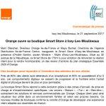 """[Communiqué @presseorange] """"@Orange_France ouvre sa boutique #SmartStore à Issy-les-Moulineaux"""""""