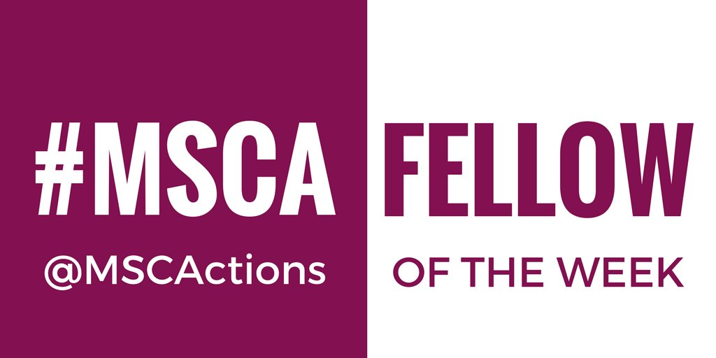 Every Friday, @MSCActions share their #MSCA fellow of the week. Who is it today?   https://www. facebook.com/Marie.Curie.Ac tions/ &nbsp; …  #EUresearchcareers <br>http://pic.twitter.com/phyysOJWTx