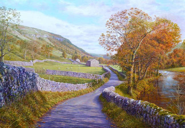 #oilpainting Limestone Country, Littondale #YorkshireDales <br>http://pic.twitter.com/BkhzY1fl5A