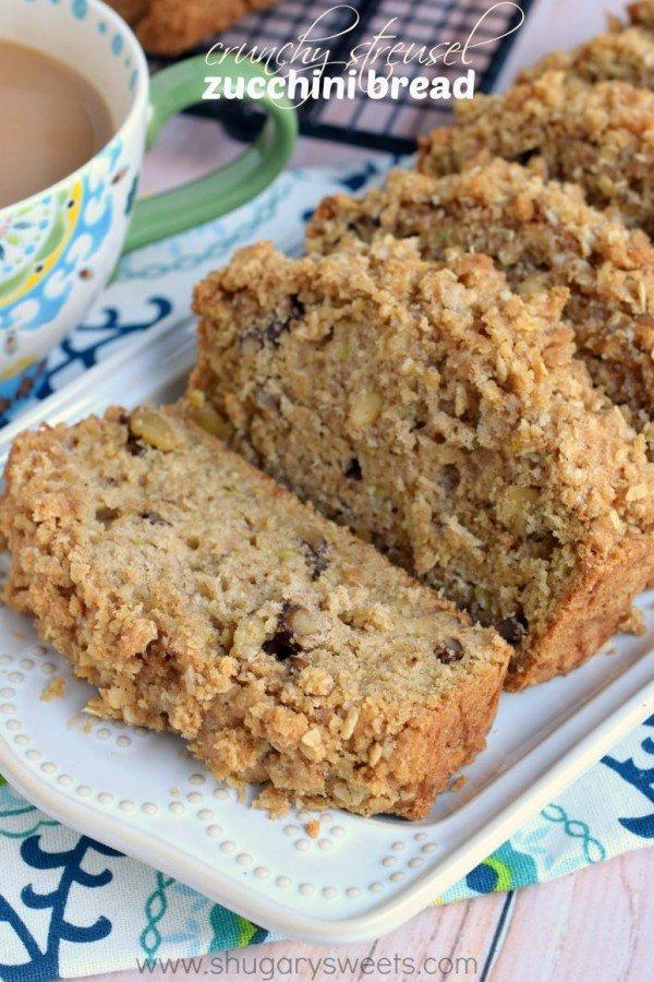 Crunchy Streusel #Zucchini Bread  - via @shugarysweets Sweets Recipe:  https://www. shugarysweets.com/2015/08/crunch y-streusel-zucchini-bread &nbsp; …  #zucchinibread<br>http://pic.twitter.com/Co0jvj6cOE