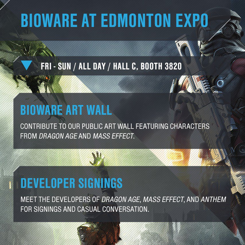 Hey #EdmontonExpo, here's how you can catch up with us this weekend. h...