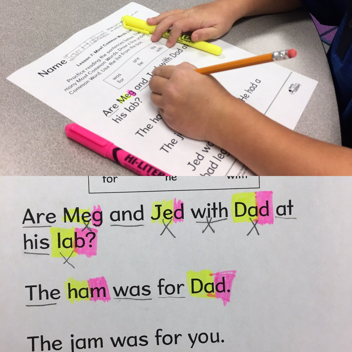 Growing readers as Ss identify sight words, highlight slide (y), ending sound(p), &amp; x vowels @TCBOE_LES #LeadingTheWay <br>http://pic.twitter.com/o6NiHzGDZ2